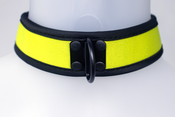 Neoprene Collar Yellow