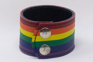 3 SNAP WRISTBAND - RAINBOW