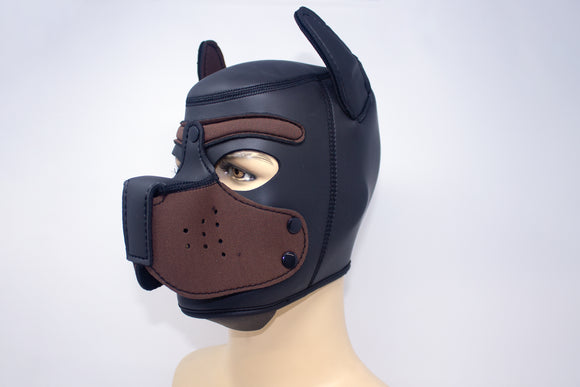Puppy Neoprene Hood Brown
