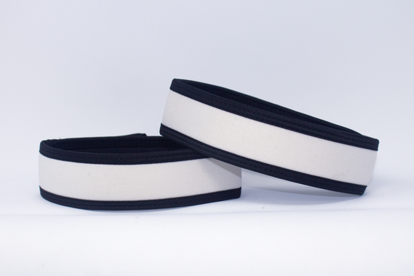 Neoprene Armbands White