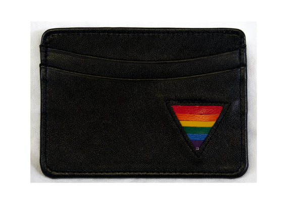 CARD WALLET - RAINBOW TRIANGLE