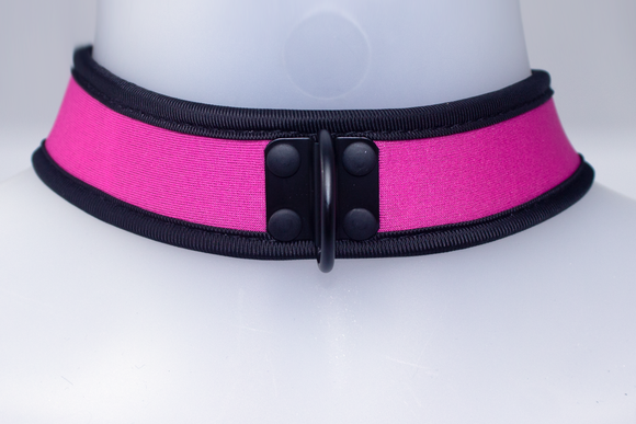 Neoprene Collar Pink