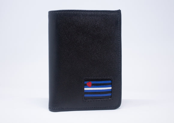 TRI-FOLD WALLET - LEATHER PRIDE ( WITH SNAPS )