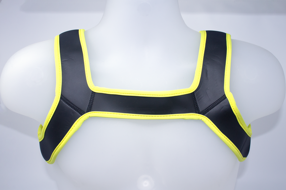 Neoprene Harness Yellow
