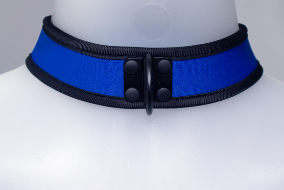 Neoprene Collar Blue