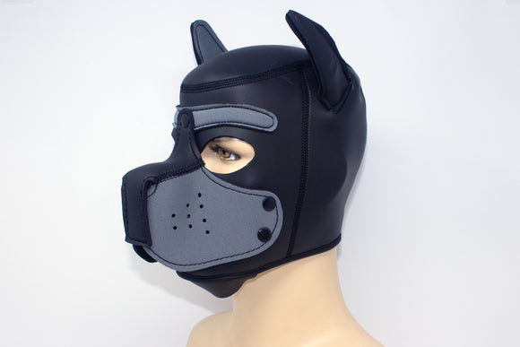 Puppy Neoprene Hood Gray