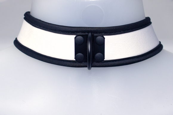 Neoprene Collar White
