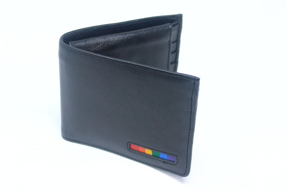 Bi-fold Wallet with Pride colors