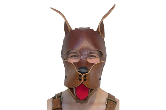 Puppy Leather Hoods -