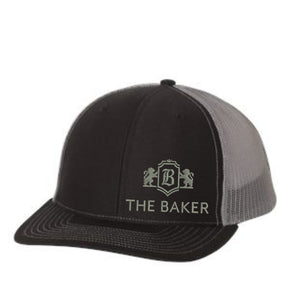 Black/Grey Richardson 112 Trucker Cap