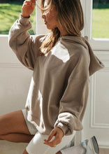 Load image into Gallery viewer, The Staple Oversized Nude Hoodie