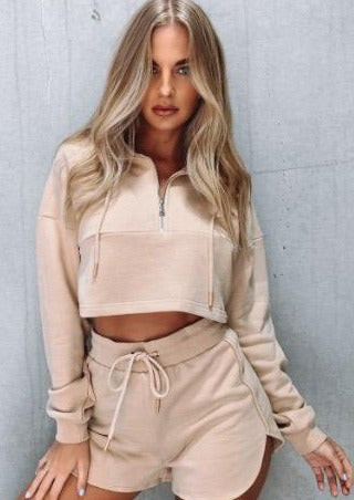 Up Front Nude Two Piece Matching Set