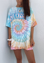 Load image into Gallery viewer, Sunkiss Oversized Tie Dye Tee