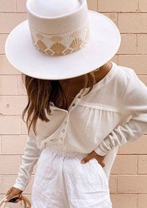 Cali Rancher Cream Hat