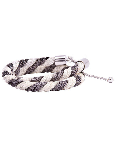 Double Twisted Chain-Link Bracelet