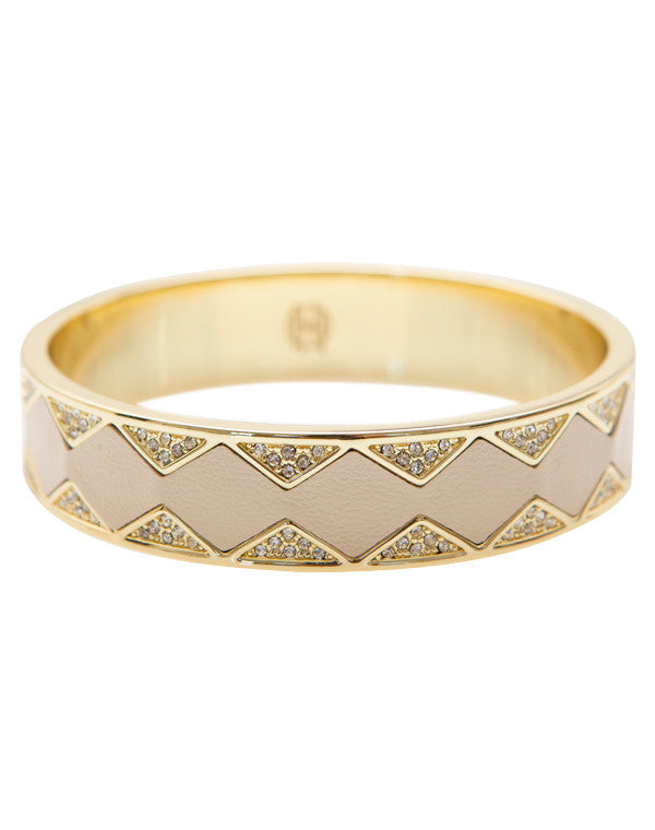 Cream Sunburst Bangle