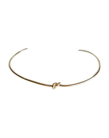 Knot Cuff Necklace