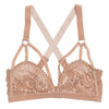 Nude Sabel Cut Out Bra