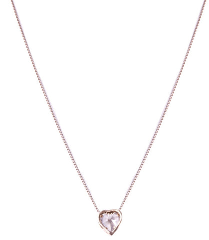 Popetto Crystal Heart Necklace
