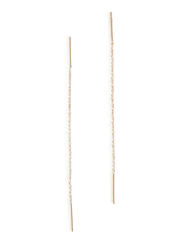 Gold Darcie Thread Earring