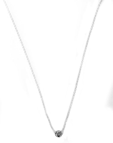 Popetto Fine Ball and Chain Necklace