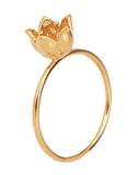 Gold Single Bud Baronia Ring