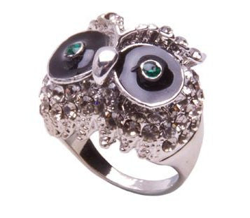 Popetto Buckland Owl Ring