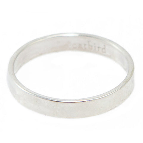 Sterling Silver Tomboy Ring