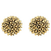 Mini Crater Stud Earrings