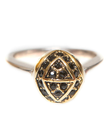 Engraved Orb Ring