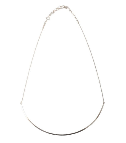 Sterling Silver Ballerina Collar Necklace