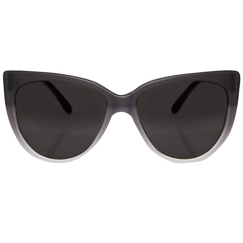 Moscow Matte Black Ombre Sunglasses
