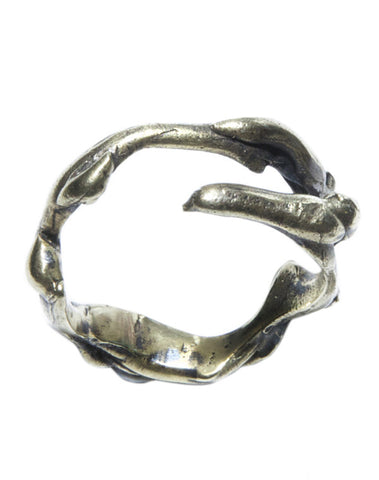Elk brass ring