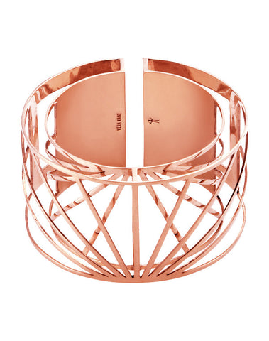 Rose Gold Sunray Bangle