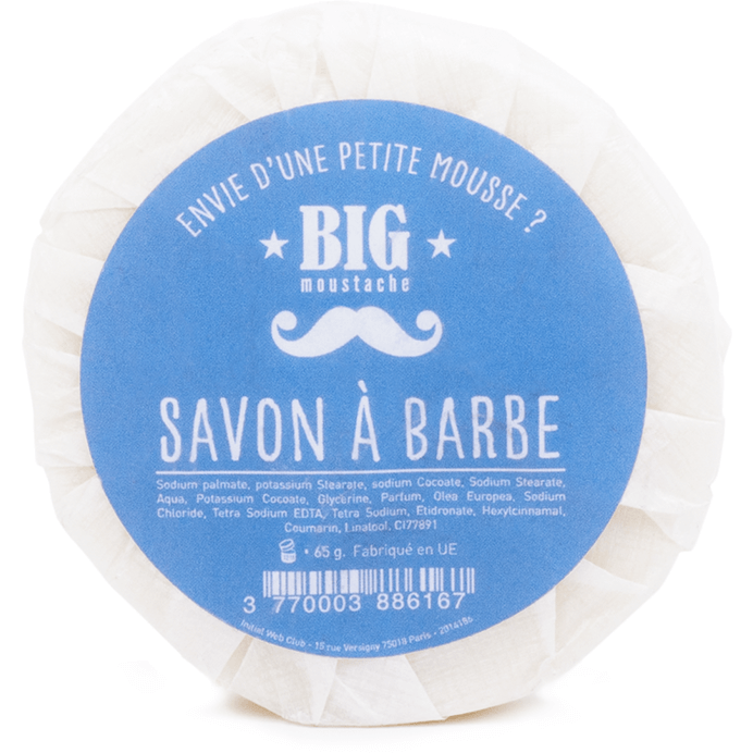 Savon à Barbe Naturel cosmetiqueshomme.com