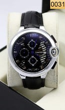 Load image into Gallery viewer, WAGW-0031 - MEN'S WRIST WATCH WITH LEATHER STRAPS