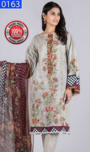 Load image into Gallery viewer, WOBS-0163 - ORIGINAL BONANZA SATRANGI UNSTITCHED LAWN 3PCS EMBROIDERED SUIT