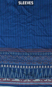 WOKD-0005 - ORIGINAL KHAADI UNSTITCHED LAWN SHIRT