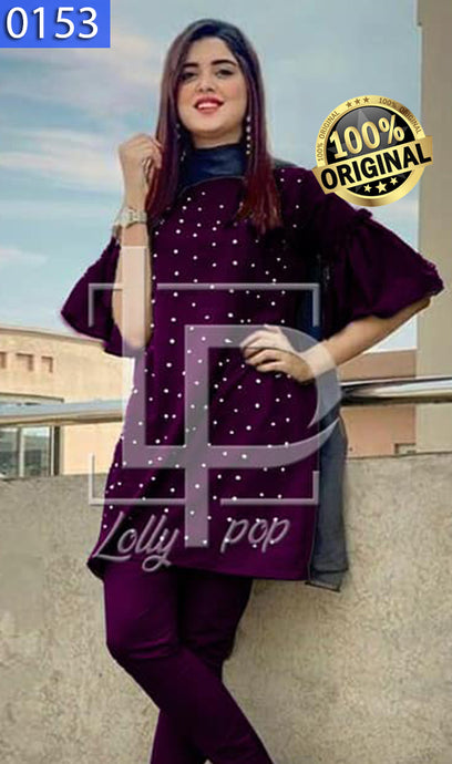 WOLP-0153 - ORIGINAL LOLLYPOP STITCHED LINEN 2PCS SUIT - READY TO WEAR