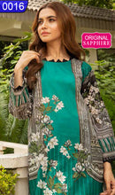 Load image into Gallery viewer, WOSP-0016 - ORIGINAL SAPPHIRE UNSTITCHED LAWN 3PCS PRINTED SUIT