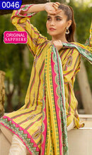 Load image into Gallery viewer, WOSP-0046 - ORIGINAL SAPPHIRE UNSTITCHED LAWN 2PCS PRINTED SUIT