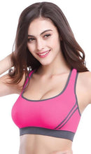 Load image into Gallery viewer, WASB-0017 - SPORTS BRA IMPORTED - STRETCHABLE MATERIAL