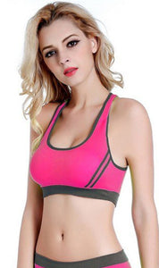 WASB-0020 - SPORTS BRA IMPORTED - STRETCHABLE MATERIAL