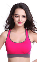 Load image into Gallery viewer, WASB-0020 - SPORTS BRA IMPORTED - STRETCHABLE MATERIAL