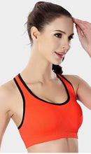Load image into Gallery viewer, WASB-0028 - SPORTS BRA IMPORTED - STRETCHABLE MATERIAL