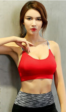 Load image into Gallery viewer, WASB-0036 - SPORTS BRA IMPORTED - STRETCHABLE MATERIAL