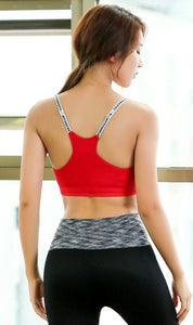 WASB-0036 - SPORTS BRA IMPORTED - STRETCHABLE MATERIAL