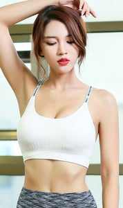 WASB-0041 - SPORTS BRA IMPORTED - STRETCHABLE MATERIAL