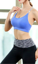 Load image into Gallery viewer, WASB-0043 - SPORTS BRA IMPORTED - STRETCHABLE MATERIAL