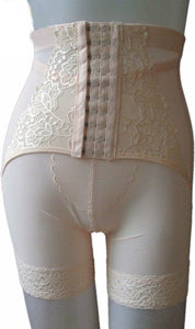 WASH-0005 - HIGH WAIST TUMMY CONTROL SHORTS SHAPER (WITH HOOKS)
